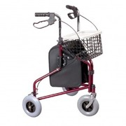 Three Wheeled Rollator