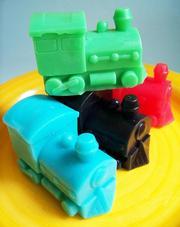 homemade train soap
